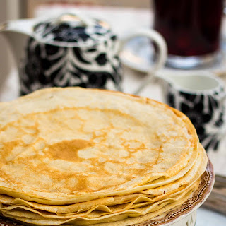 "Russian Crepes ""Blini""."