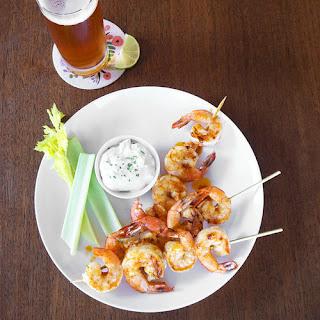 Grilled Buffalo Shrimp
