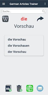 German Articles Trainer 4