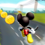 Running Mickey Dash Icon
