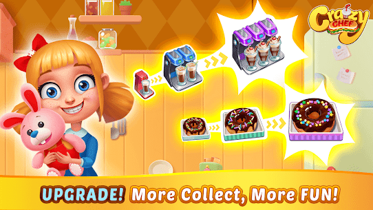 Crazy Chef Mod Apk 1.1.61 (Unlimited Currency) 6