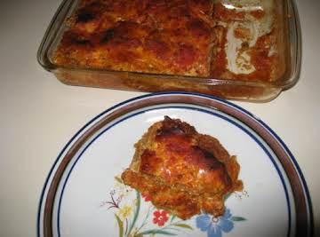 Momma's Eggplant Parmesan