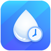 Drink Water Reminder: Water Tracker & Alarm Icon