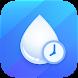 水を飲むリマインダー