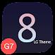 UX8 Black Theme LG G7 V35 V40