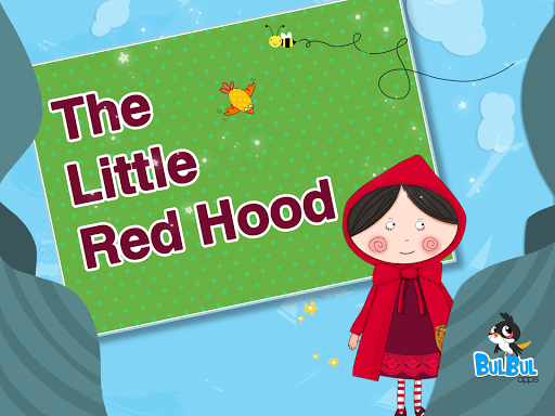 Little Red Hood Cute Fairytale
