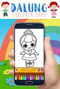Coloring Book Dolls Expert Drawing Google Play Ilovalari