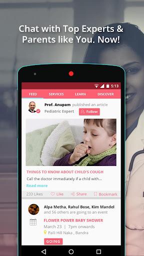 玩免費遊戲APP|下載BabyChakra - Parenting App app不用錢|硬是要APP