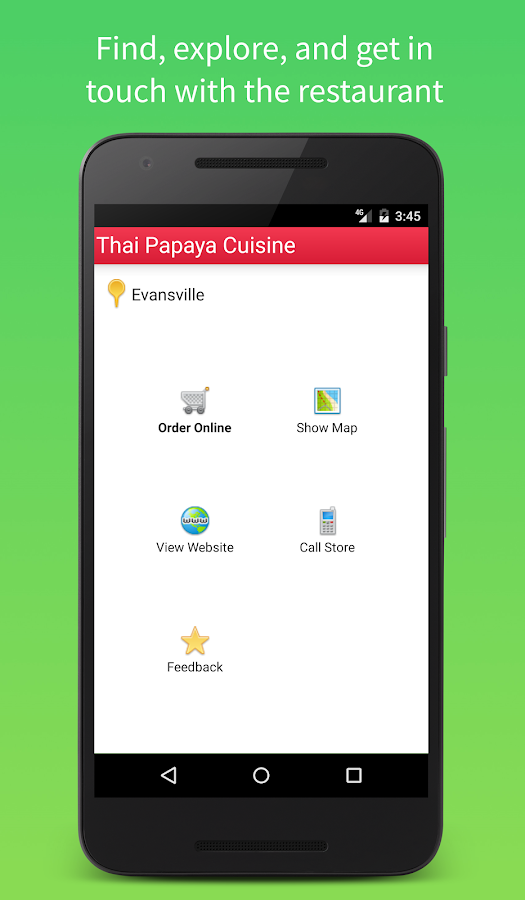 Thai Papaya Mobile- screenshot