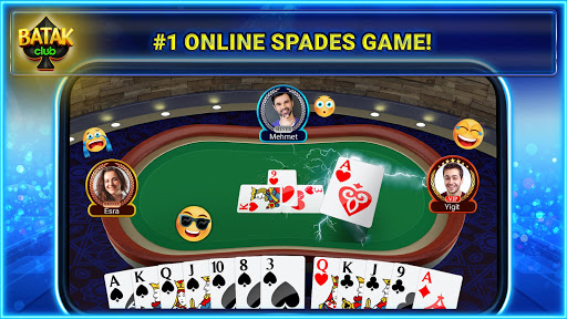 Spades Club (aka Batak Club): Online Spades Plus screenshots 1