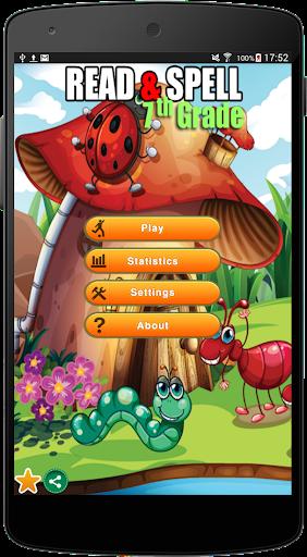 Read Spell Game 7th Grade