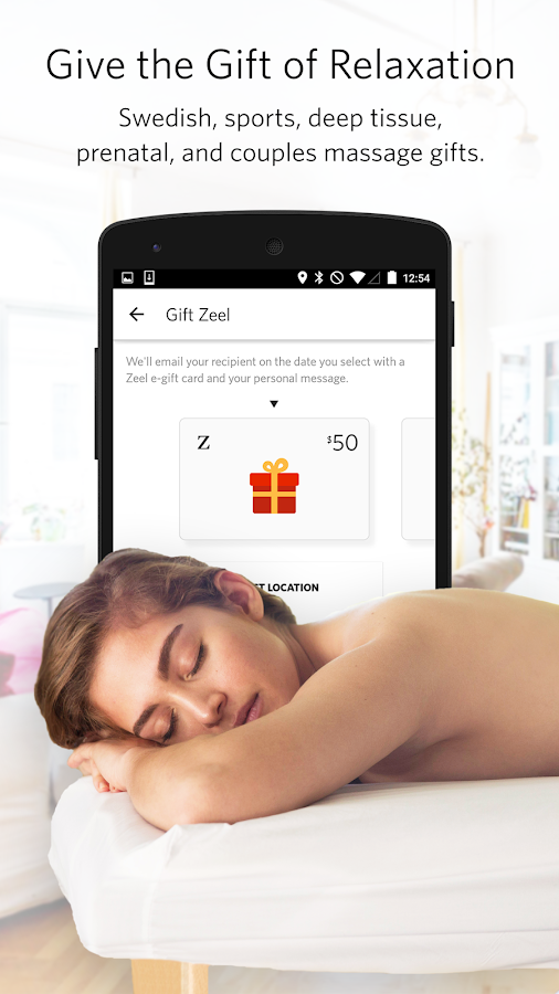In-Home Massage by Zeel- screenshot