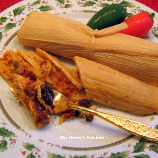 Cranberry Turkey Tamales