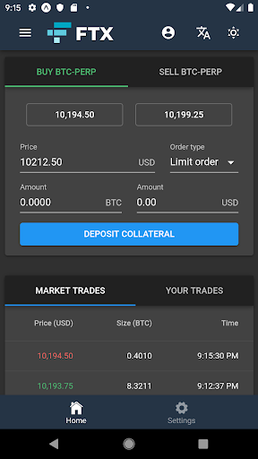 FTX Cryptocurrency Derivatives Exchange  screenshots 2