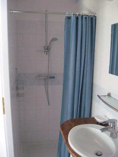 Cuarto de ducha tocador