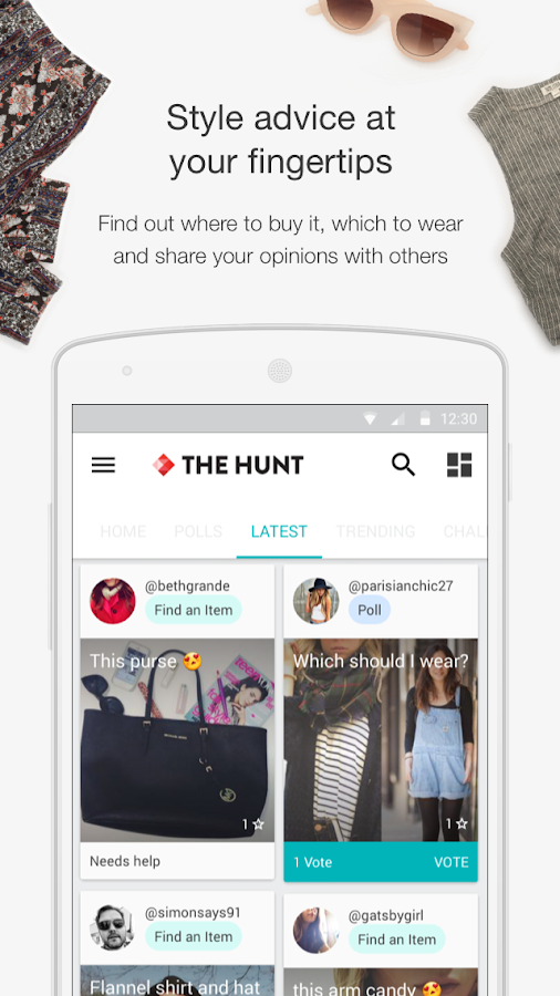 The Hunt - Style & Shopping- screenshot