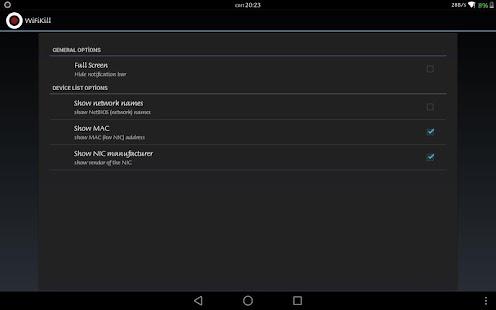 WiFiKiLL PRO - WiFi Analyser Screenshot