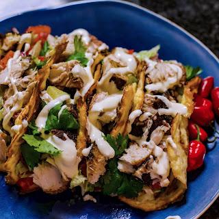 Easy Delicious Keto Fish Tacos.