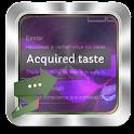 Acquired taste GO SMS icon