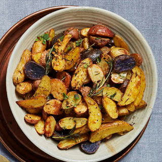Herb-Roasted Fingerling Potatoes.