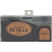 Stazon Metallic Ink Kit Copper