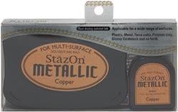Stazon Metallic Ink Kit - Copper