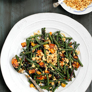 Stir-Fried Chinese Long Beans with Peanuts