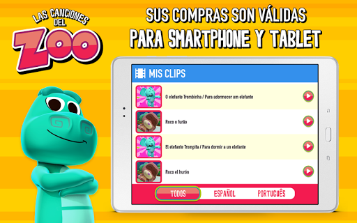 Canciones del Zoo - screenshot