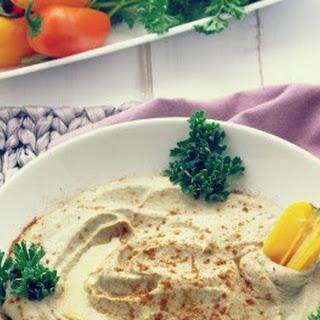Smokey Baba Ganoush {Roasted Eggplant Dip} Recipe