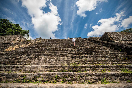 Belize-Caracol-Maya-pyramid.jpg - The Mayan pyramid of Caracol, Belize.