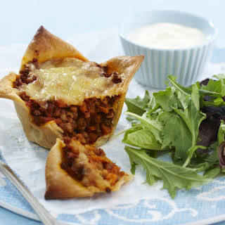 Cheesy Lentil Pies.