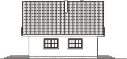 Domek Mały 004 BK V3 - Elewacja lewa