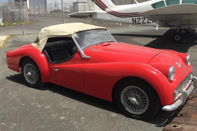 1959 Triumph TR3 Hire California
