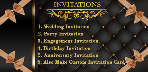 Invitation Card Maker Invitation Maker 1 2 6 Android