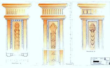 Photo: Entwurf Pilaster, Monika Slomski
