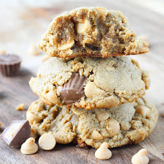 Loaded Reese's Peanut Butter Cookies.