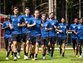 Tomas Pina et Clinton Mata présents à l'entraînement de Bruges mardi