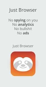 Just Browser App Download For Android and iPhone 1