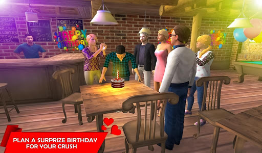 Virtual Girlfriend Crush Love Life Simulator  captures d'écran 2