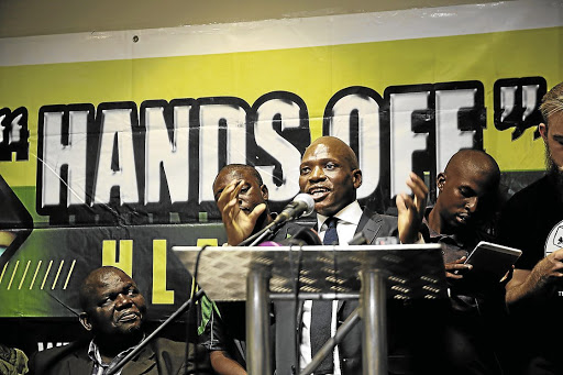 Narrow interests: Hlaudi Motsoeneng introduced a 90% local content quota when he was chief operating officer of the SABC. The policy has been blamed for the broadcaster's falling advertising revenue. Picture: DAILY DISPATCH