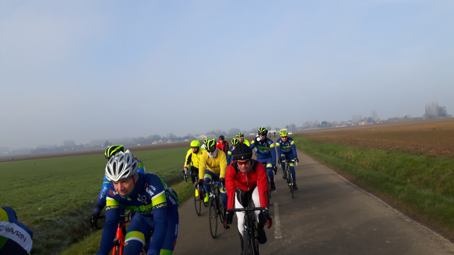 18/02 Brevet cyclo Flines lez Raches