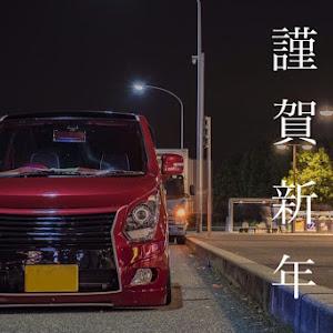 ワゴンR MH34S 20周年記念車のホイールのカスタム事例画像 瑠偉(車高短詐欺師)さんの2019年01月04日14:47の投稿