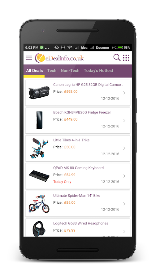 eDealinfo.co.uk - Daily Deals- screenshot