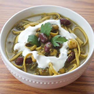 Persian Vegetable Noodle Soup