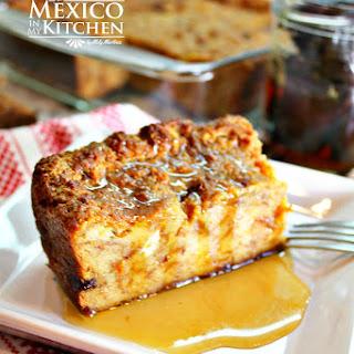 Mexican Bread Pudding - Budín de Pan