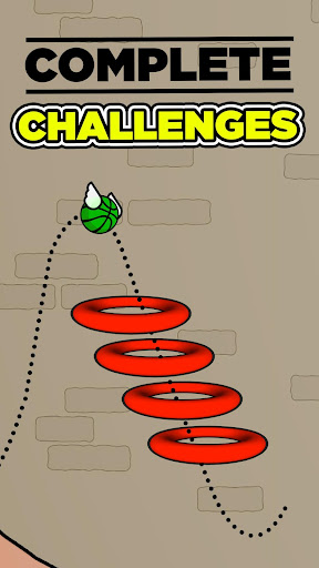 Flappy Dunk - screenshot