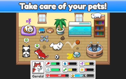 Pet Idle apktram screenshots 6