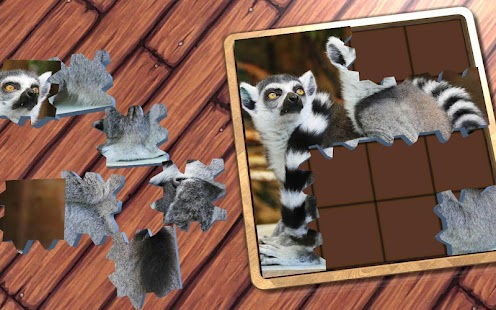 Super Jigsaws Wild Animals- screenshot thumbnail