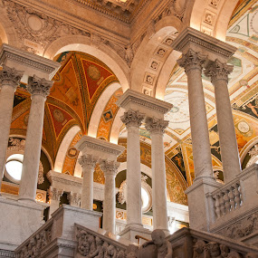 Library of Congress Washington DC by Bob Stafford - Buildings & Architecture Public & Historical