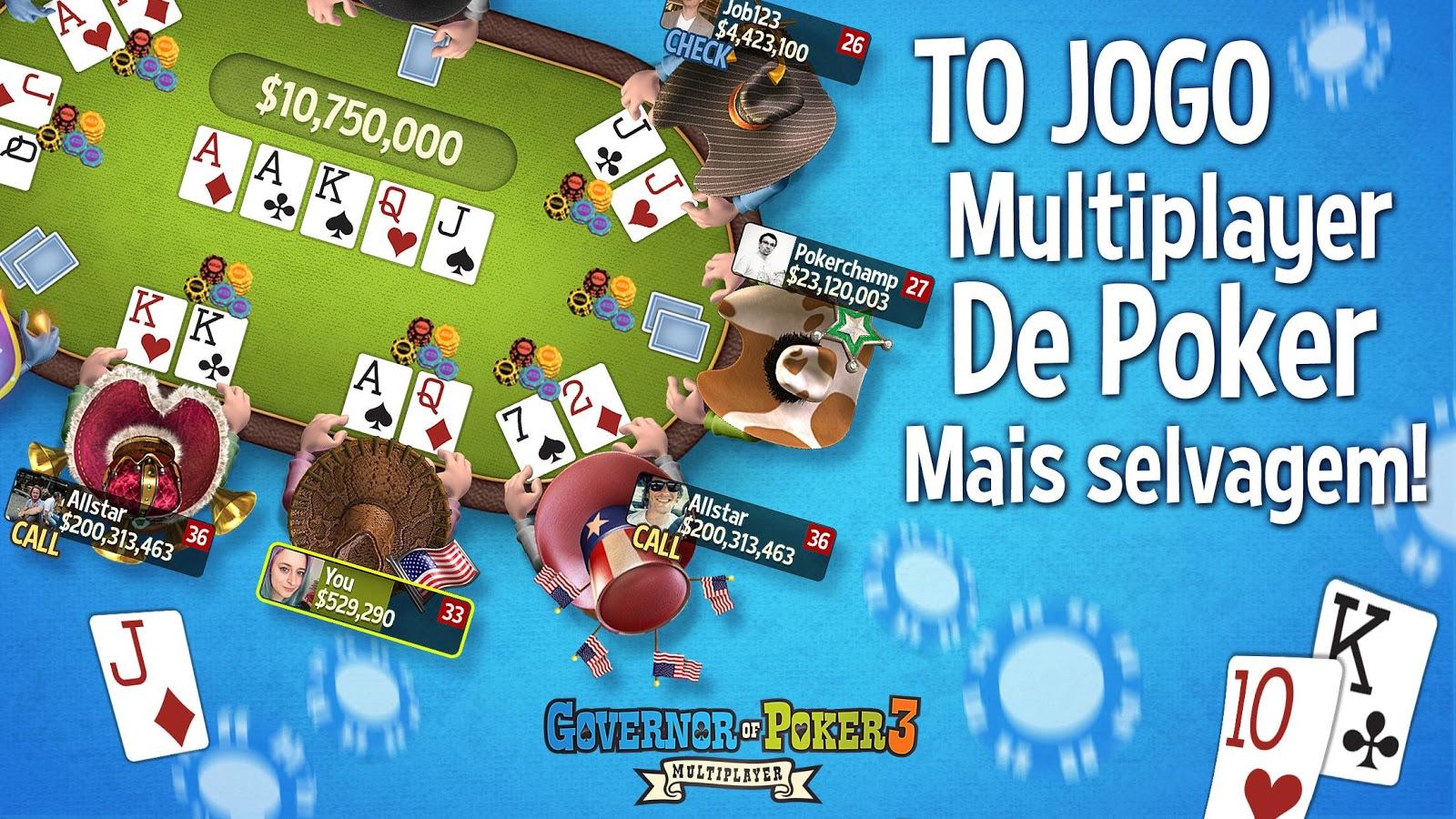 Jogar governor of poker 2 em portugues gratis